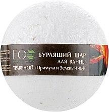 """Voňavky, Parfémy, kozmetika Bomba do kupeľa """"Primula a zelený čaj"""" - ECO Laboratorie Herbal Bomb"""