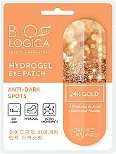 """Voňavky, Parfémy, kozmetika Náplasti pod oči """"Proti tmavým kruhom"""" - Biologica Gold"""