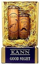 Voňavky, Parfémy, kozmetika Sada - Kann Good Night Man (f/n/cr/50ml + eye/cr/15ml)