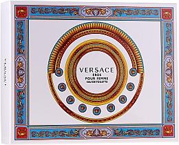 Voňavky, Parfémy, kozmetika Versace Eros Pour Femme - Sada (edt/50ml + b/lot/50ml + sh/gel/50ml)