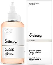 Voňavky, Parfémy, kozmetika Obnovujúce tonikum s kyselinou glykolovou 7% - The Ordinary Glycolic Acid 7% Toning Solution