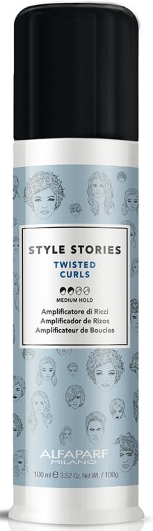 Krém na vlasy - Alfaparf Style Stories Twisted Curls Medium Hold
