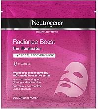 Voňavky, Parfémy, kozmetika Hydrogélová revitalizačná maska na tvár - Neutrogena Hydro Boost Radiance Boost Hydrogel Recovery Mask