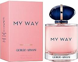 Giorgio Armani My Way - Parfumovaná voda — Obrázky N4