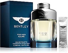 Voňavky, Parfémy, kozmetika Bentley Bentley For Men Azure - Sada (edt/100ml + afsh/balm/5ml)