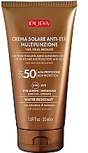 Voňavky, Parfémy, kozmetika Protistarnúci krém na tvár a dekolt s ochranou pred slnkom SPF 50 - Pupa Anti-Aging Sunscreen Cream SPF 50
