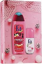 Voňavky, Parfémy, kozmetika Sada - Fa Polinesia Secrets (sh/grl/250ml + deo/50ml)