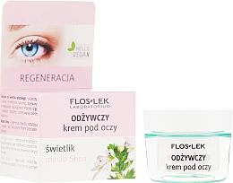 Voňavky, Parfémy, kozmetika Výživný krém na oči s olejom Shea - Floslek