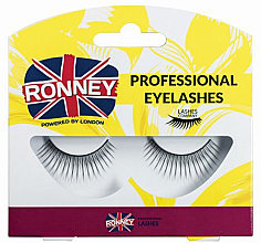 Voňavky, Parfémy, kozmetika Falošné riasy, syntetická - Ronney Professional Eyelashes RL00024