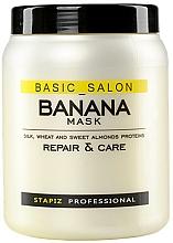 Voňavky, Parfémy, kozmetika Maska na poškodené vlasy - Stapiz Basic Salon Banana Mask