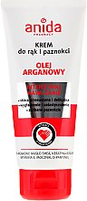 Voňavky, Parfémy, kozmetika Krém na ruky a nechty - Anida Pharmacy Argan Oil Hand Cream