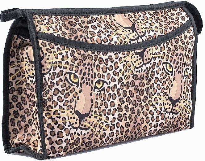"""Dámska kozmetická taška """"Leopard"""", 98512 - Top Choice — Obrázky N1"""