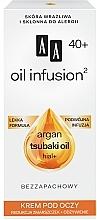 Voňavky, Parfémy, kozmetika Výživný očný krém proti vráskam - AA Oil Infusion Nourishing Eye Cream For Wrinkles
