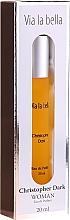 Voňavky, Parfémy, kozmetika Christopher Dark Via La Bella - Parfumovaná voda (mini)
