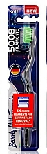 Voňavky, Parfémy, kozmetika Mäkká zubná kefka, svetlozelená - Beverly Hills Formula 5008 Filament Multi-Colour Toothbrush