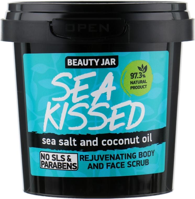 "Peeling na telo a tvár ""Sea Kissed"" - Beauty Jar Rejuvenating Body And Face Scrub"