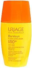 Voňavky, Parfémy, kozmetika Opaľovací fluid krém na tvár - Uriage Bariesun Ultra-Light Fluid SPF50+