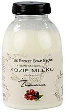 """Voňavky, Parfémy, kozmetika Kozie mlieko do kúpeľa """"Brusnica"""" - The Secret Soap Store Cranberry Goat Milk"""