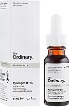 Voňavky, Parfémy, kozmetika Antioxidačné sérum na tvár - The Ordinary Pycnogenol 5%