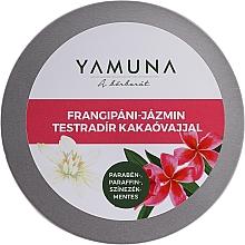 Voňavky, Parfémy, kozmetika Telový peeling s kakaovým maslom - Yamuna Frangipani-Jasmine Body Scrub With Cocoa Butter