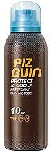 Voňavky, Parfémy, kozmetika Osviežujúci slnečný muss - Piz Buin Protect & Cool Refreshing Sun Mousse SPF10
