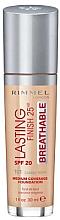 Voňavky, Parfémy, kozmetika Make-up - Rimmel Lasting Finish 25HR Breathable Foundation SPF 20