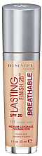 Voňavky, Parfémy, kozmetika Tonálny základ - Rimmel Lasting Finish 25HR Breathable Foundation SPF 20