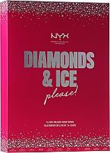 """Voňavky, Parfémy, kozmetika Sada """"Adventný kalendár"""" - NYX Professional Makeup Diamond & Ice Advent Calendar Makeup Set"""