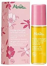 Voňavky, Parfémy, kozmetika Arganový a šípkový olej  - Melvita Huiles De Beaute Argan & Rose Hip Oil Roll-On