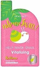 Voňavky, Parfémy, kozmetika Obnovujúca maska na tvár - Dewytree Help Me Snail! Vitalizing Mask