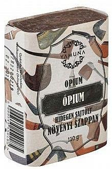 "Mydlo lisované za studena ""Ópium"" - Yamuna Opium Cold Pressed Soap"