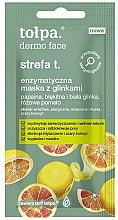 Voňavky, Parfémy, kozmetika Enzymová maska na tvár s hlinou - Tolpa Dermo Face Strefa T Face Mask (mini)