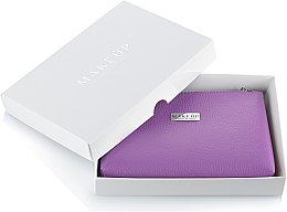 """Voňavky, Parfémy, kozmetika Kozmetická taška fialová """"Lucky"""" v darčekovej krabičke - MakeUp"""