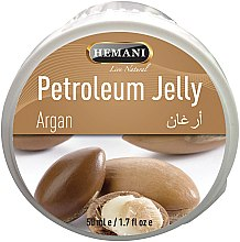 Voňavky, Parfémy, kozmetika Vazelína s arganovým olejom - Hemani Petroleum Jelly With Argan