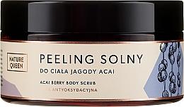 """Voňavky, Parfémy, kozmetika Soľný scrub na telo """"Bobule Acai"""" - Nature Queen Body Scrub"""