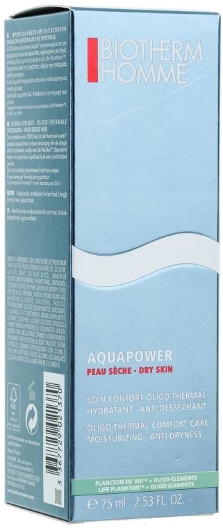 Emulzie - Biotherm Homme Aquapower Oligo-Thermal Comfort Care Moisturizing Anti-Dryness — Obrázky N3