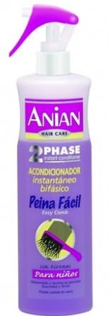 dvojfázový kondicionér pre detské vlasy - Anian Conditioner Biphasic Easy Comb — Obrázky N1