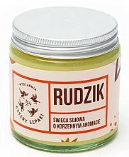 """Voňavky, Parfémy, kozmetika Vonná sviečka """"Červienka obyčajná"""" - Cztery Szpaki"""