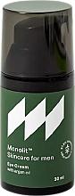 Voňavky, Parfémy, kozmetika Očný krém s arganovým olejom - Monolit Skincare For Men Eye Cream With Argan Oil