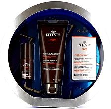 Voňavky, Parfémy, kozmetika Sada - Nuxe Men Anti-Age (eye/cr/15ml + f/fluid/50ml + sh/gel/200ml)