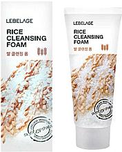Voňavky, Parfémy, kozmetika Ryžová pena - Lebelage Rice Cleansing Foam