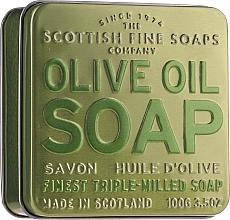 Voňavky, Parfémy, kozmetika Mydlo - Scottish Fine Soaps Olive Oil Soap In A Tin