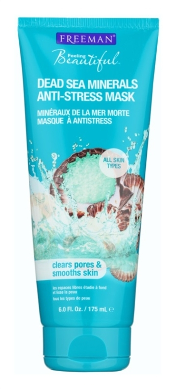 "Antistresová maska na tvár ""Minerály z Mŕtveho mora"" - Freeman Feeling Beautiful Dead Sea Minerals Anti-Stress Mask"