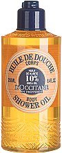 """Voňavky, Parfémy, kozmetika Sprchový olej """"Shea"""" - L'occitane Shea Oil Body Shower Oil"""