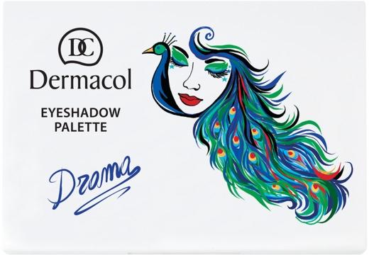 Paleta luxusných očných tieňov - Dermacol Luxury Eyeshadow Palette — Obrázky N2