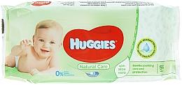 Voňavky, Parfémy, kozmetika Detské vlhčené obrúsky Natural Care, 56 ks - Huggies