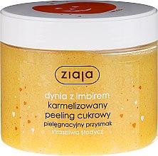"""Voňavky, Parfémy, kozmetika Cukrový peeling na tvár """"Tekvica so zázvorom"""" - Ziaja Sugar Body Peeling"""