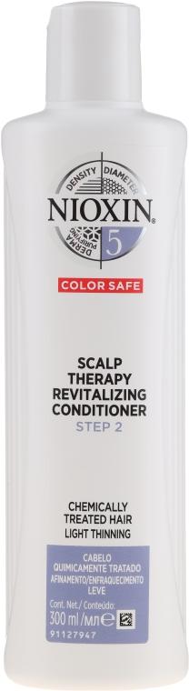 Kondicionér na farbené vlasy - Nioxin '5' Scalp Therapy Revitalising Conditioner — Obrázky N3