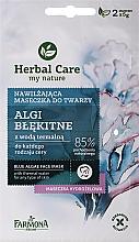 """Voňavky, Parfémy, kozmetika Maska na tvár """"Modré riasy"""" - Farmona Herbal Care Blue Algae Face Mask"""