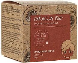 Voňavky, Parfémy, kozmetika Vyhladzujúca maska na tvár s kaolínovou hlinkou - Gracja Bio Smoothing Mask